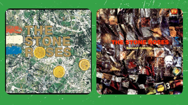The Stone Roses - debut album (1989) and The Second Coming (1994)
