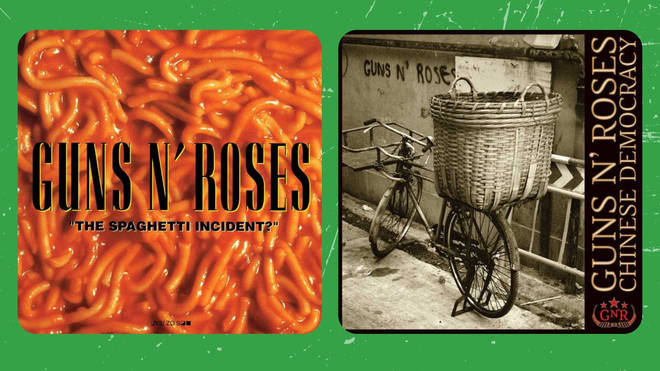 Guns N'Roses - The Spaghetti Incident? (1993) and Chinese Democracy (2008)