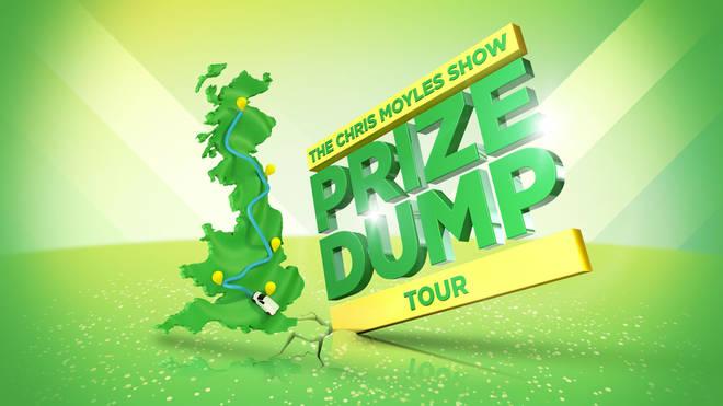 The Chris Moyles Show Prize Dump Tour