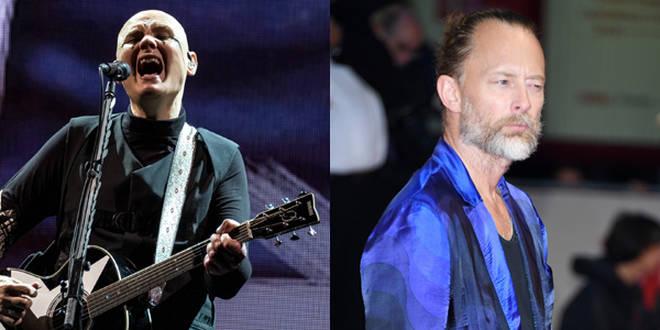 Billy Corgan and Thom Yorke