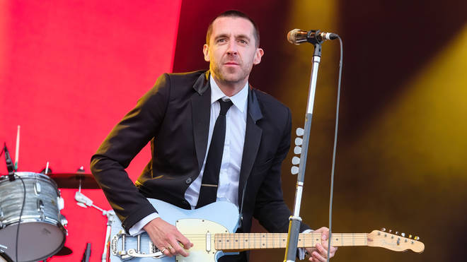 Miles Kane performing live in August 2021
