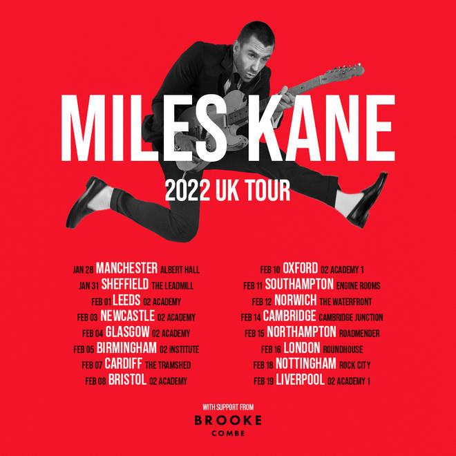 Miles Kane 2022 tour dates