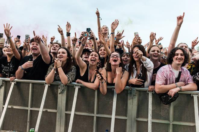 The crowds at Neighbourhood Weekender 2021