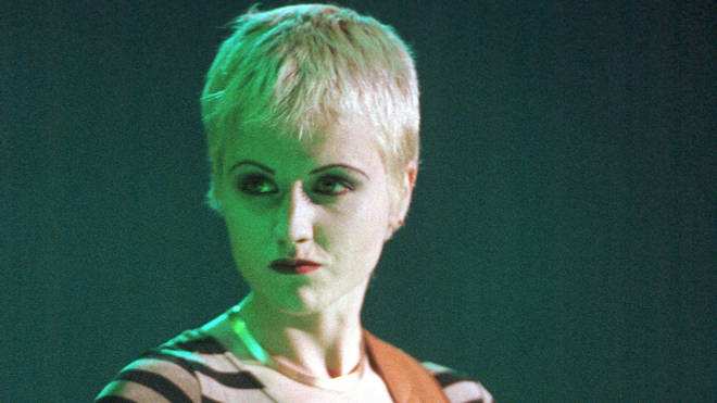The Cranberries' late singer Dolores O'Riordan. pictured in 1994
