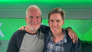 Chris Moyles and Rob Brydon on The Chris Moyles Show