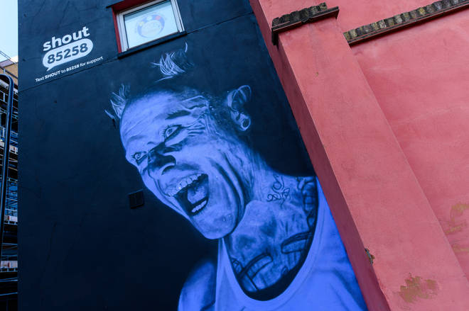 Mural Unveiled Of The Prodigy's Keith Flint For World Suicide Prevention Day 2021