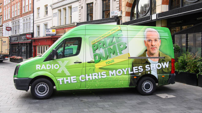 Keep an eye out for the green vans this week! #PrizeDumpTour