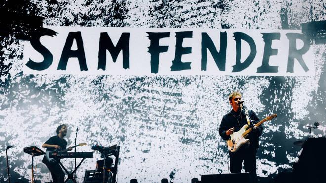 Sam Fender playing the TRNSMT mainstage, Friday 10th September.
