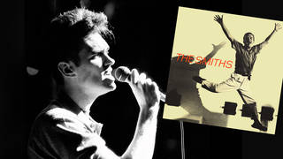 Morrissey performing live with The Smiths,12 March 1984