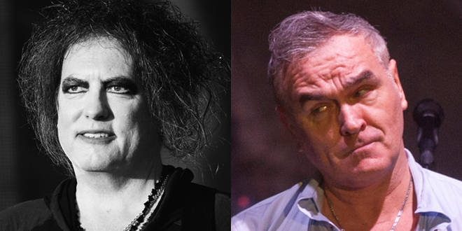 Robert Smith and Morrissey