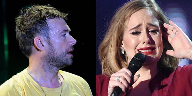 Damon Albarn and Adele