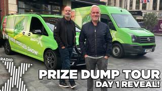 Prize Dump tour Day 1 reveal