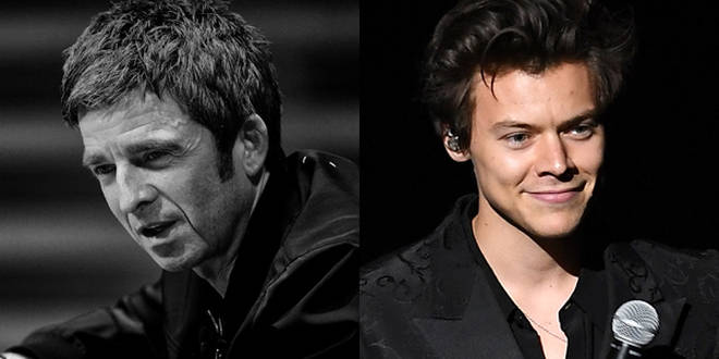 Noel Gallagher and Harry Styles