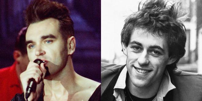 Morrissey and Bob Geldof