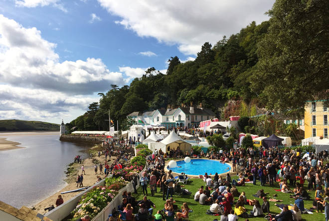 Festival No 6 at Portmeirion in Wales, 2015