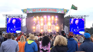 The main stage at Isle Of Wight Festival in 2019