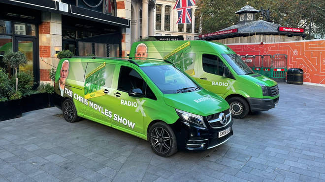 The Prize Dump vans are ready...