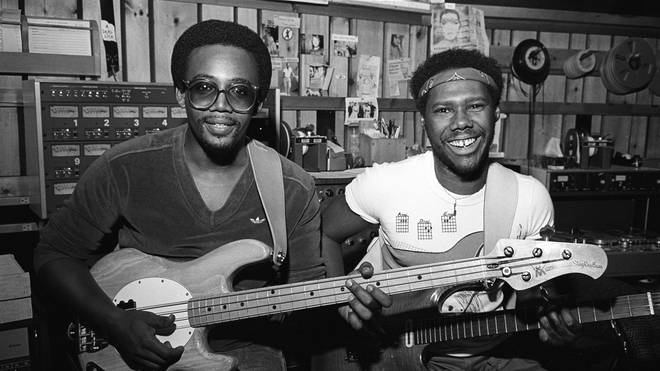 Bernard Edwards and Nile Rogers of Chic in 1981: not famous enough for Studio 54, apparently