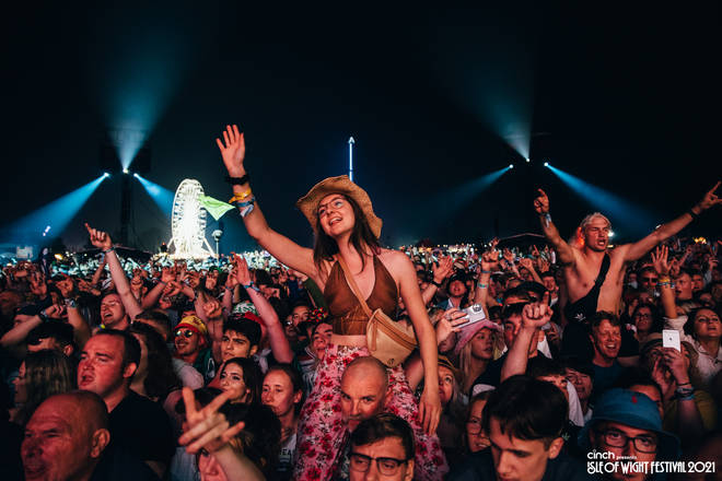 """50,000 people flocked to the Isle Of Wight for a weekend of """"peace, love, and understanding."""""""