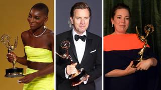 Michaela Coel, Ewan McGregor and Emma Coleman all won an Emmy this year