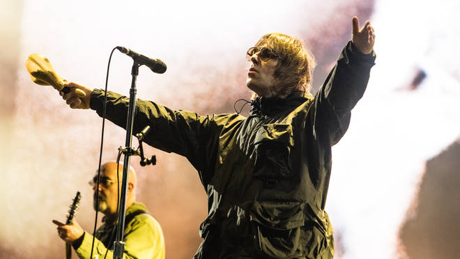 Liam Gallagher headlined the Friday night of this year's Isle Of Wight Festival.