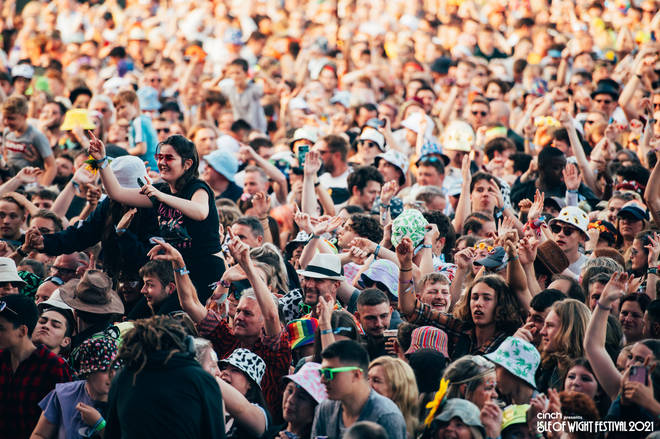 Fridays at festivals are always a frenzy.