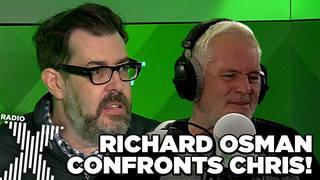 Richard Osman on The Chris Moyles Show