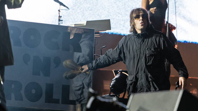 Liam Gallagher at Isle of Wight 2021