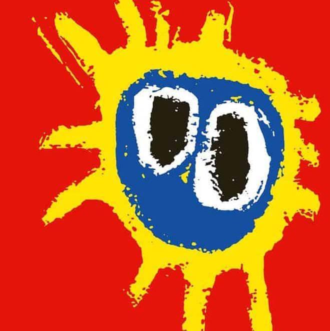 Paul Cannell's art for Primal Scream's Screamadelica album cover