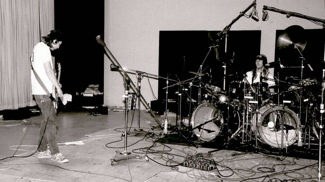 Tool tecording at Sound City Studios in December 1991, a few months after NIrvana completed Nevermind there. The studio was renowned for being able to capture the perfect drum sound.