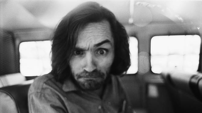 Cult leader Chalres Manson arrives at court on a murder charge in June 1970. The year before, he'd been laying down tracks at Sound City Studios.