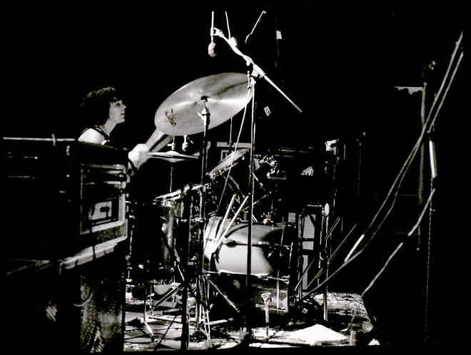 Tobi Vail performs with Bikini Kill for Rock for Choice concert at the Hollywood Palladium on 30 April, 1993