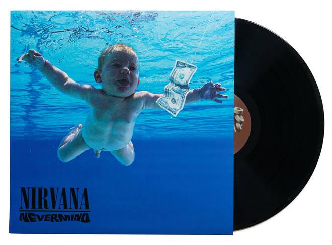 The original vinyl edition of Nirvana's Nevermind