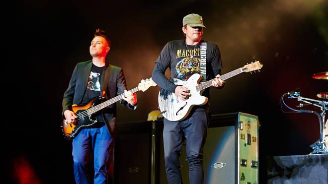 Mark Hoppus and Tom DeLonge in 2014