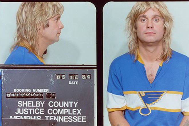 Ozzy Osbourne is arrested, 1984