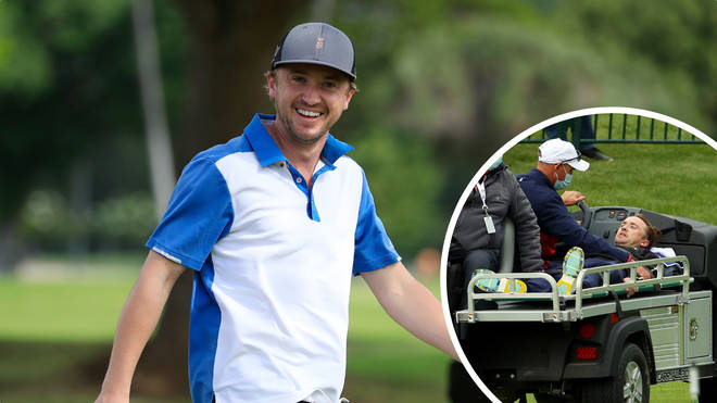 Tom Felton collapses at celebrity golf match in the US