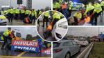 Eco protesters bring yet more chaos to the M25 in latest demonstration near Heathrow