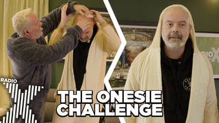 The Chris Moyles Show play The onesie Challenge