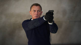 Daniel Craig in the new film James Bond 007: No Time To Die