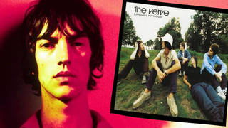 Richard Ashcroft and the cover of The Verve's Urban Hymns