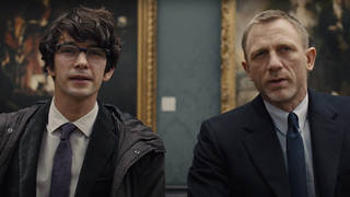 Ben Whishaw reprises the role of Q in No Time To Die alongside Daniel Craig's James Bond.