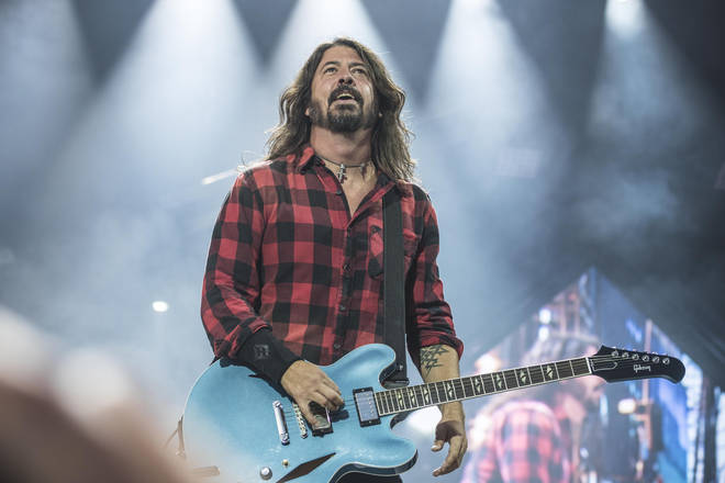 Foo Fighters' frontman Dave Grohl is a huge ABBA fan. (Photo by Gina Wetzler/Redferns)