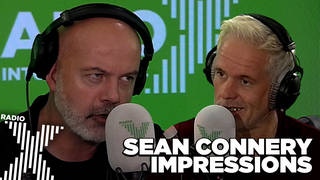 Chris and Dom do their best Sean Connery impressions