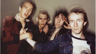 The Clash in the glory days of September 1978: Joe Strummer, Paul Simonon, Mick Jones and Topper Headon.