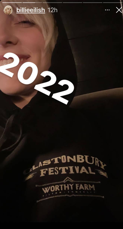 Billie Eilish teases Glastonbury appearance