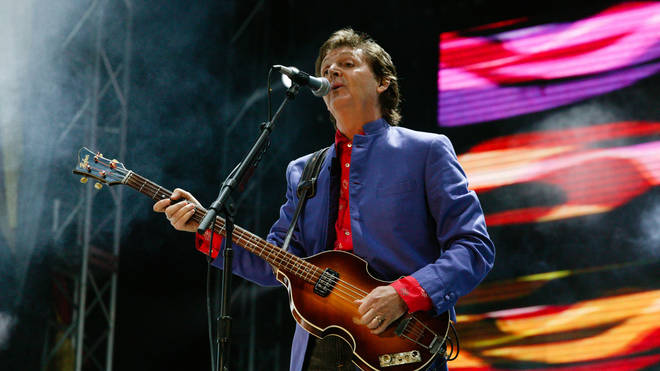 Paul McCartney's first appearance at Glastonbury was back in 2004