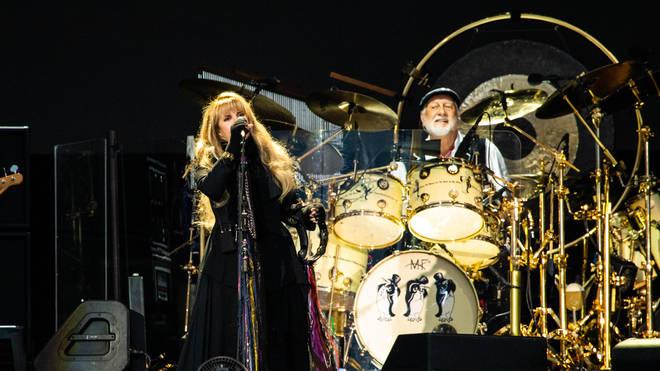 Stevie Nicks and Mick Fleetwood performing in the revamped Fleetwood Mac in June 2019