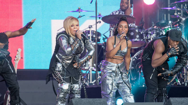 TLC performing live in 2017