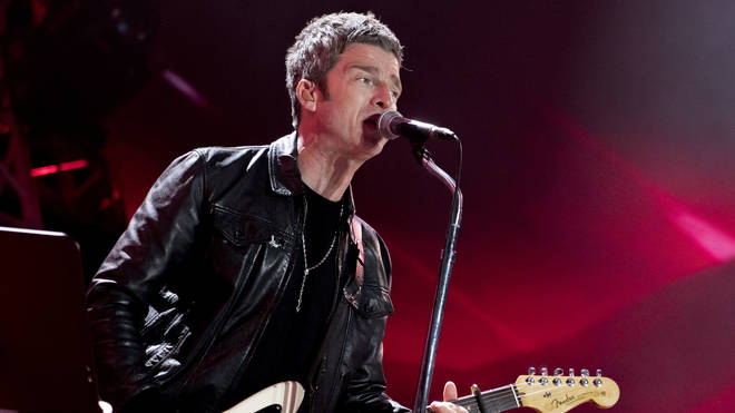 Noel Gallagher performing live in Rome, May 2019