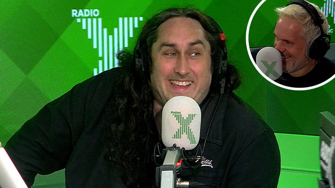 Ross Noble was on The Chris Moyles Show this week